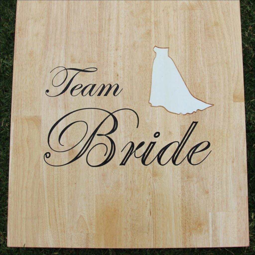 Team bride design