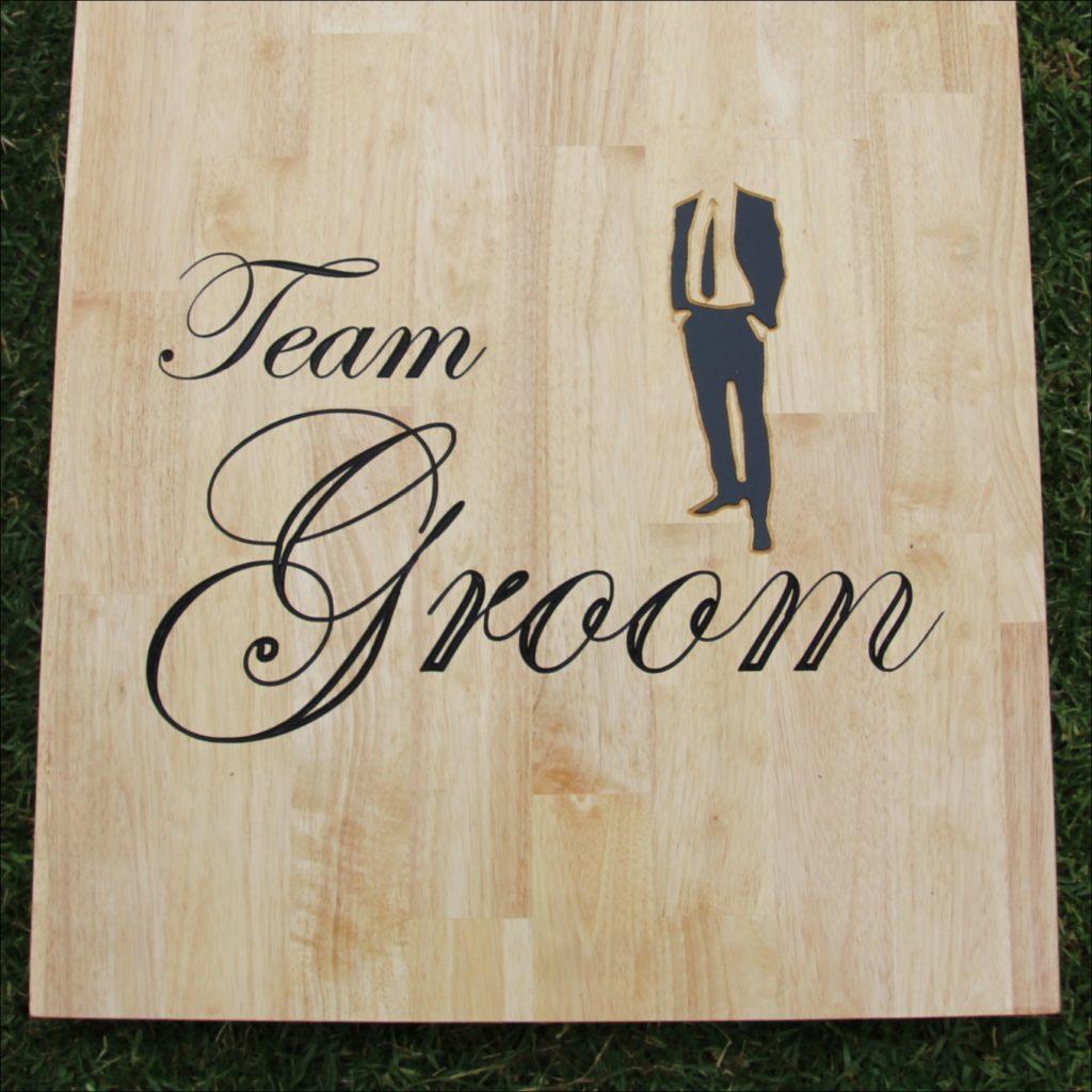 Team groom design